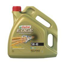 Castrol Edge 5W-40 motorolaj 4L