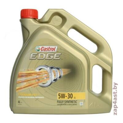 CASTROL EDGE TITANIUM LL 5W30 4L