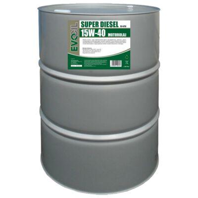 EVO OILS SUPER DIESEL 15w-40 200L