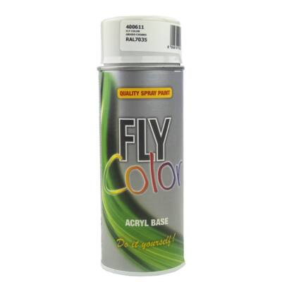 FLY COLOR RAL7035 H.SZÜRKE 400 ML FESTÉK SPRAY (400611)