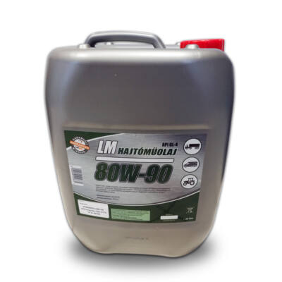 LM HAJTÓMŰOLAJ 80W90 20 liter