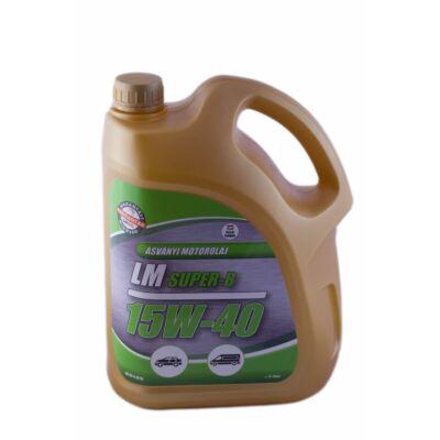 LM SUPER B 15W40 4 liter többfokozatú motorolaj