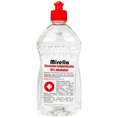 Mirella Felülettisztító folyadék 70% alkohollal 500 ml push-pull kupakos