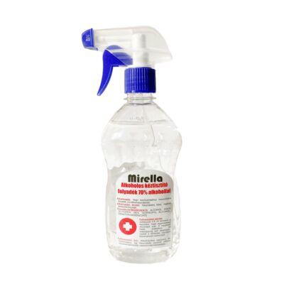 Mirella Kéztisztító folyadék 70% alkohollal 500ml szórófejes