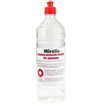 Mirella Kéztisztító folyadék 70% alkohollal 1L push-pull kupakos