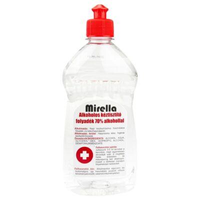 Mirella Kéztisztító folyadék 70% alkohollal 500ml push-pull kupakos