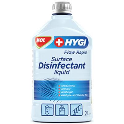MOL Hygi Flow Rapid Felületfertőtlenítő folyadék 2L