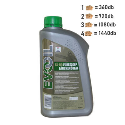 SL 55 FŰRÉSZ LÁNCKENŐ OLAJ 1 liter