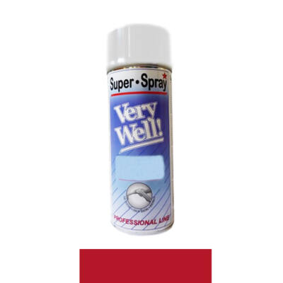 Very Well Piros RAL 3002 400ml